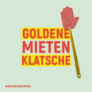 Preis: Goldene Mietenklatsche