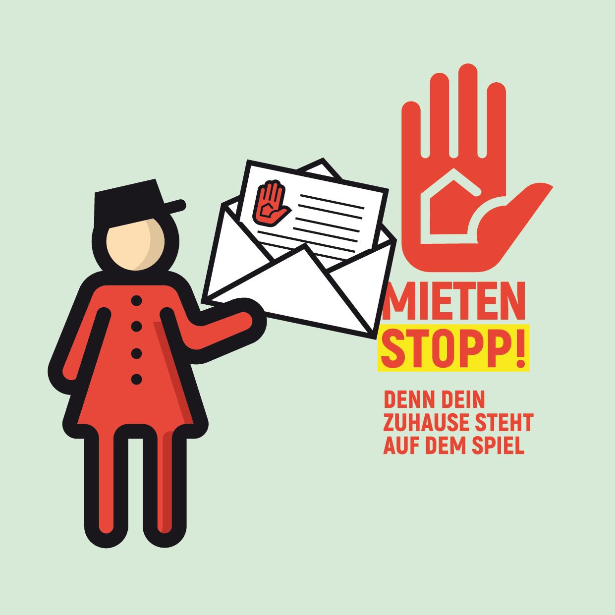 Mietenstopp - Offener Brief an die Sondierungs-Teams